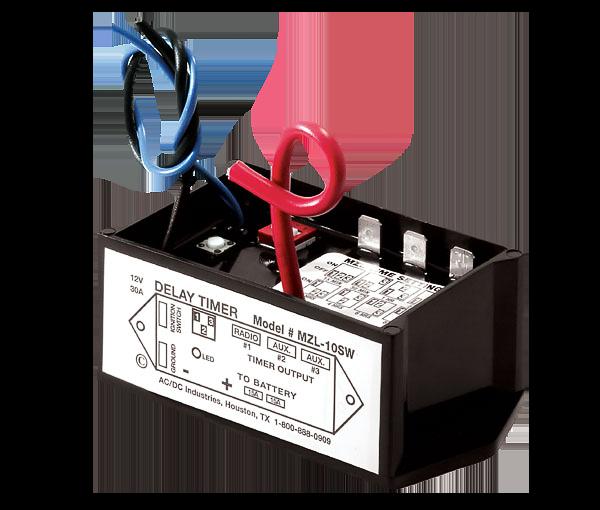Mzl 10sw 12v ignition sensing delay timer acdc industries mzl 10 ignition sensing delay timer sciox Gallery