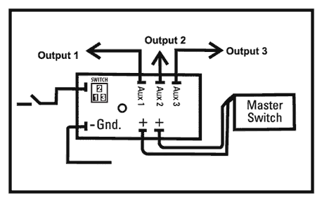 MZL-FD 12v Ignition Sensing Delay Timer | ACDC Industries | Dc Timer Switch Wiring Diagram |  | ACDC Industries